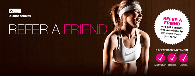 Member? Refer a friend and get one month free!